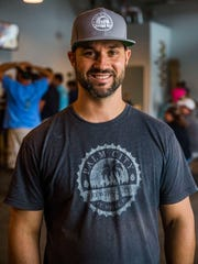 Owner Ryan Bowen at Palm City Brewing in Fort Myers on Saturday, June 3, 2017. The grand opening will be June 17.