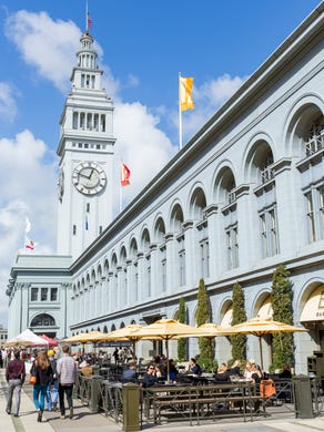 The Ferry Building Marketplace Is At Northeast
