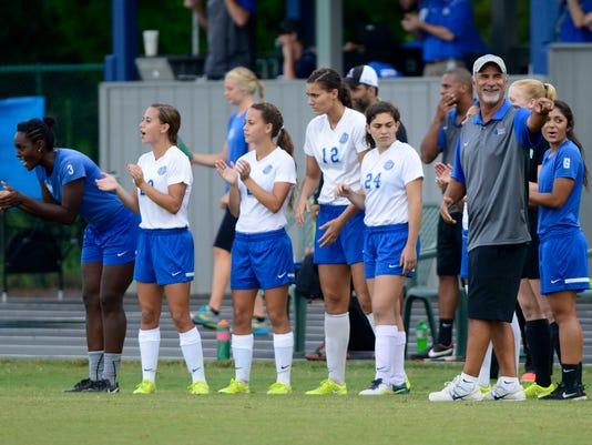University of West Florida women soccer take on Montevallo Falcons