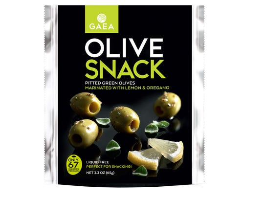 These packaged olives offer a way to eat olives on
