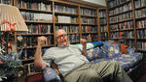 The Rev. Allen Lewis has four rooms in his house filled