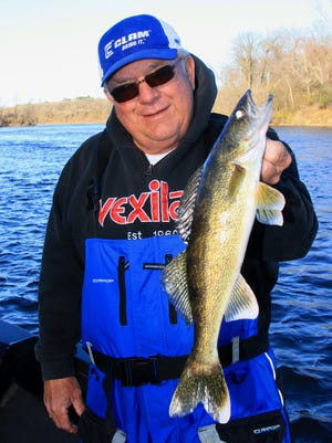 Angling legend Dave Genz is one of many that have been taking advantage of the mild fall to spend time on the water.