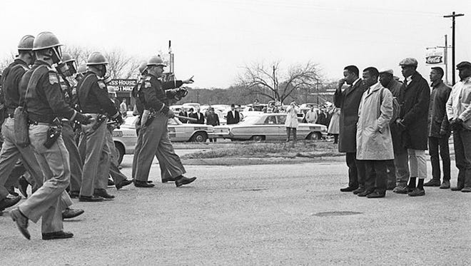 Voting Rights Act march