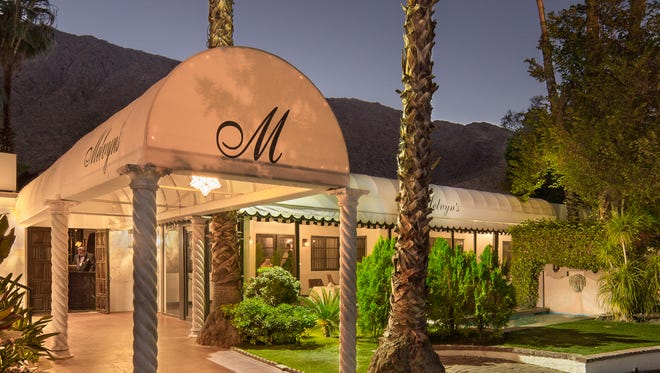 The Ingleside Inn and Melvyn's Restaurant in Palm Springs, shown after renovations and a freshening up, is participating in Restaurant Week.