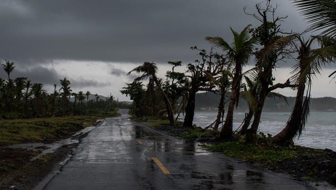 The remnants of Hurricane Beryl moved over Humacao, Puerto Rico, on Monday, July 9, 2018. Up to five inches of rain was reported in some areas.