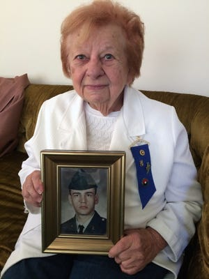 Janice Dahlke's son Randy Mueller was killed in action in Vietnam in 1969. The Gold Star mother will be the grand marshal in Saturday's Veterans Day parade in Milwaukee.