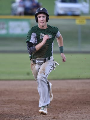 Michigan Daub drove in the tying run and picked up the save on the mound to lift Fredericksburg to a 6-5 win over Dallastown in an elimination game at the Region 4 Tournament on Tuesday.
