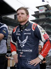 Dale Coyne Racing IndyCar driver Conor Daly (17) during