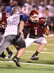 Backup quarterback Cole Runge led De Pere to seven straight wins after starting the season 0-2.