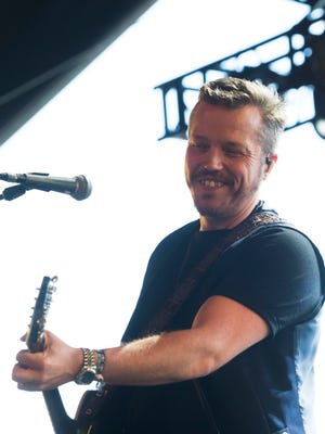 Apr 28, 2018; Indio, CA, USA; Jason Isbell and The 400 Unit perform on the Palomino Stage at the Stagecoach Country Music Festival at Empire Polo Club. Mandatory Credit: Omar Ornelas/The Desert Sun via USA TODAY NETWORK