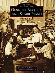 Copies of the new book on Gennett Records and Starr