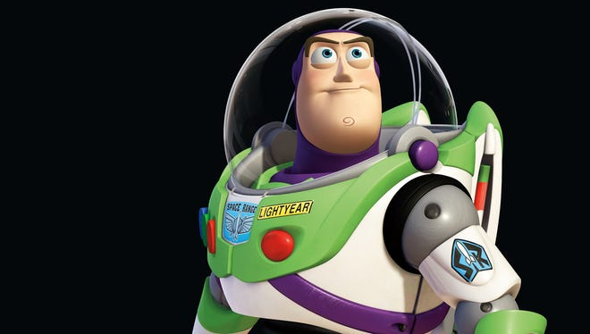 "Buzz Lightyear character from the animated motion picture ""Toy Story 3."""