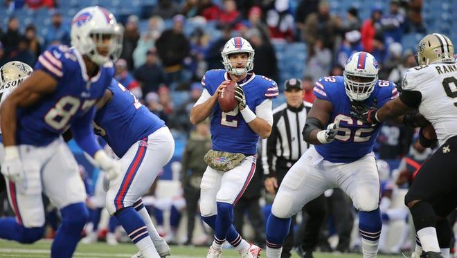 Bills rookie quarterback Nathan Peterman will get the start against the Chargers.