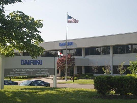 Daifuku building and sign