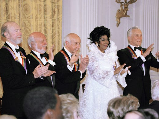 The recipients of the 1994 Kennedy center honors award