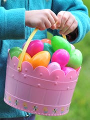 Kids can hunt for Easter eggs and other treats at several