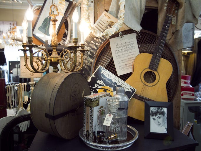 Items at Sweet Salvage in Phoenix on Thursday, July 19, 2012. Michael Schennum/The Arizona Republic