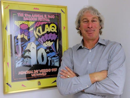 Brad Dubow, 95.5 KLAQ-FM general manager and El Paso