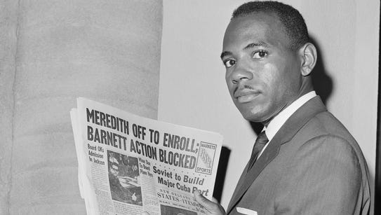 James Meredith was the first African-American student