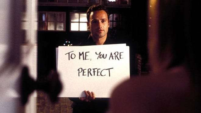 """Andrew Lincoln makes a Christmas Eve confession to Keira Knightley in """"Love Actually."""""""