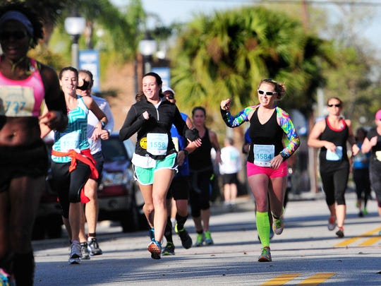 The Melbourne Music Marathon and Half Marathon is a challenging course that sends runners over both Melbourne and Eau Gallie causeway.
