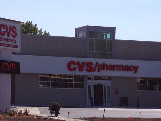 The new CVS pharmacy, at the site of the former Neighborhood Pub in Sturgeon Bay, is slated to open Sept. 14.
