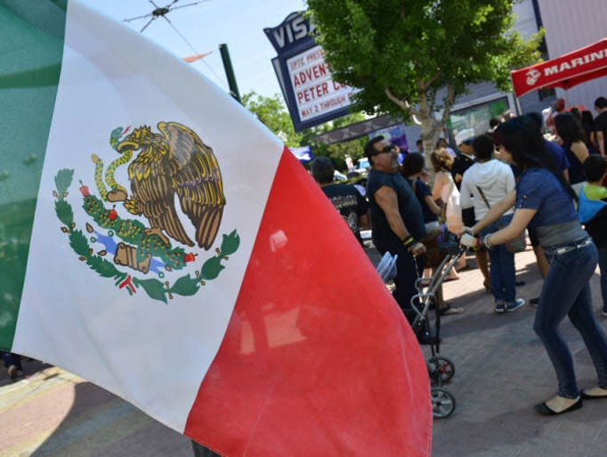 The Tulare Kings Hispanic Chamber of Commerce 5th annual Cinco de Mayo Festival and Hispanic Heritage Parade on Saturday in downtown Visalia.