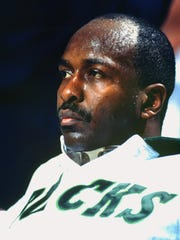 Bucks center Moses Malone.