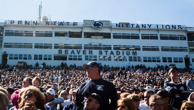 Penn State's athletic director recommended the university sell alcohol in private areas of its venues, such as Beaver Stadium.