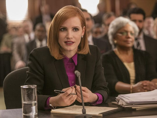 Jessica Chastain is a high-powered Washington lobbyist