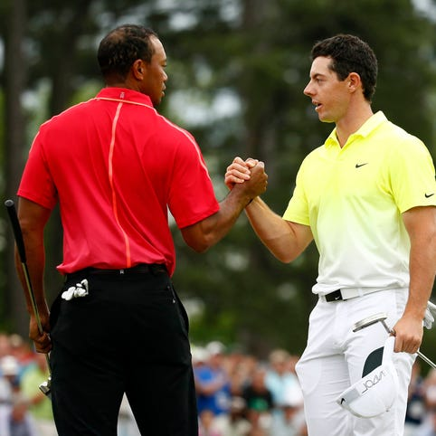 Rory McIlroy, Jason Day are among golfers standing behind Tiger Woods