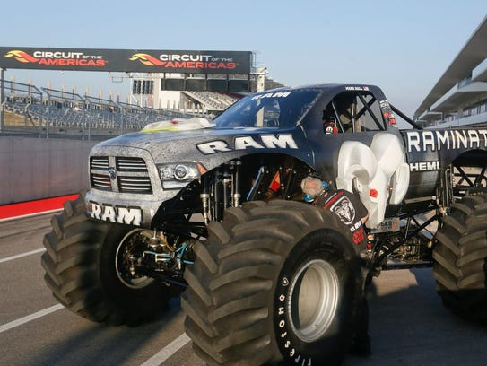 The monster truck Raminator will be in Colby in May.