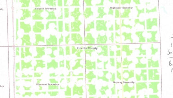 Land available for wind turbines under Lincoln County's