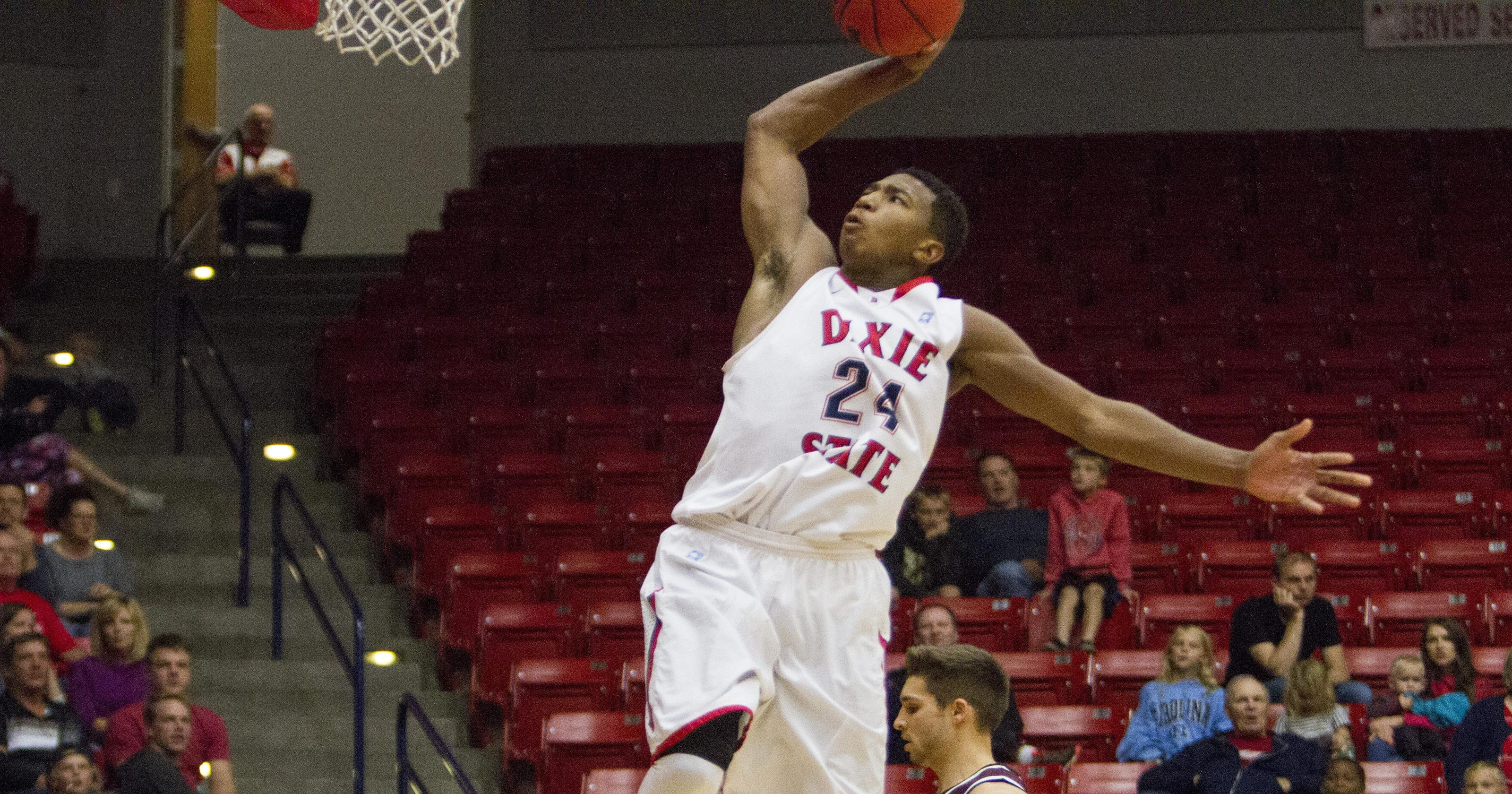 a8f618be006 Dixie State s Trevor Hill 360 slam lands on SportsCenter s Top 10 play