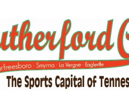 "Rutherford County Tourism officials will use this logo designating the county as ""The Sports Capital of Tennessee."""