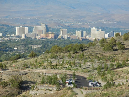 Although the Hunter Creek Trail feels like a respite from city life, it's only about 10 minutes from downtown Reno to the trailhead on Woodchuck Circle.