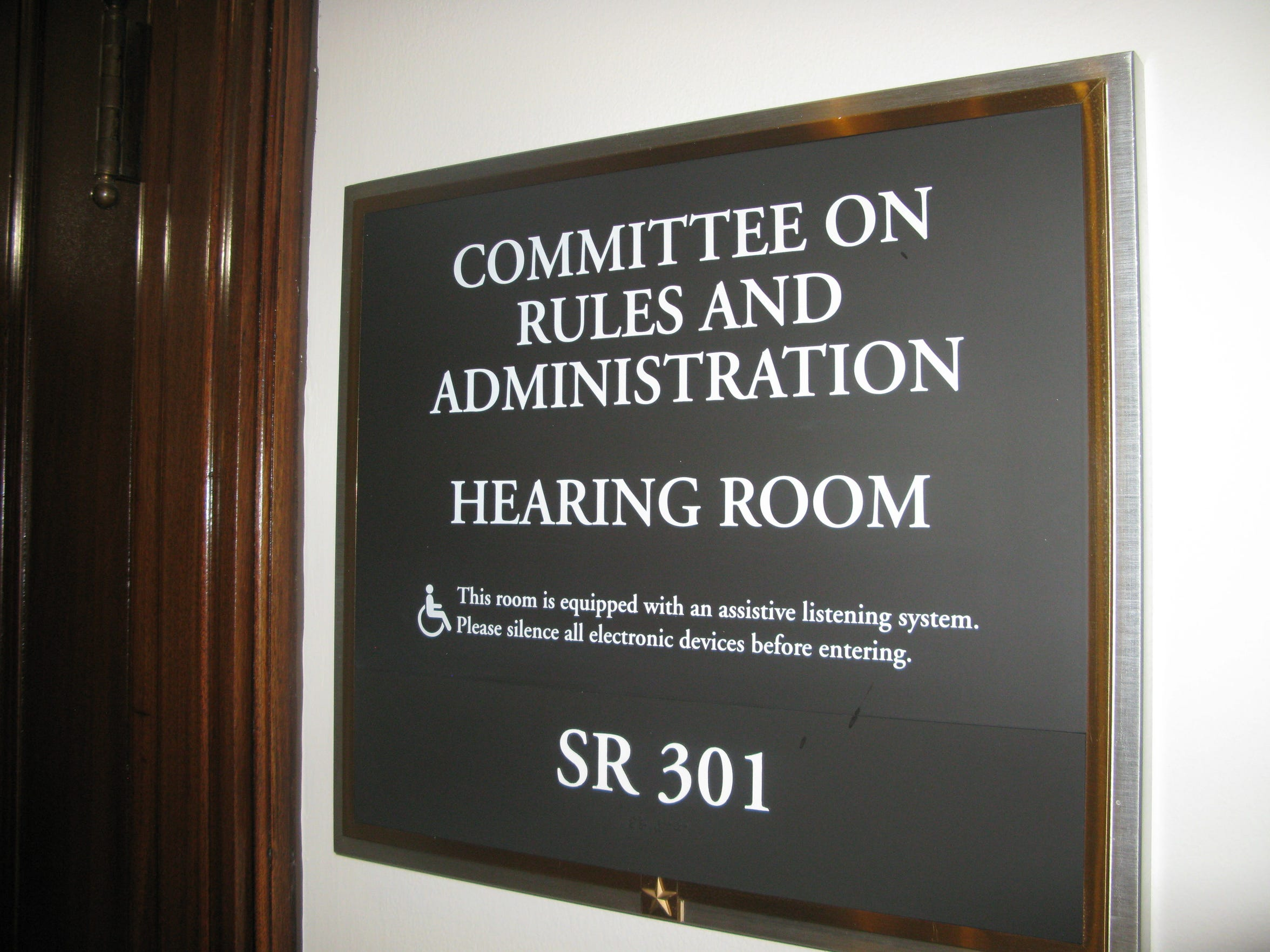 Roy Blunt took over the chairmanship of the Rules Committee