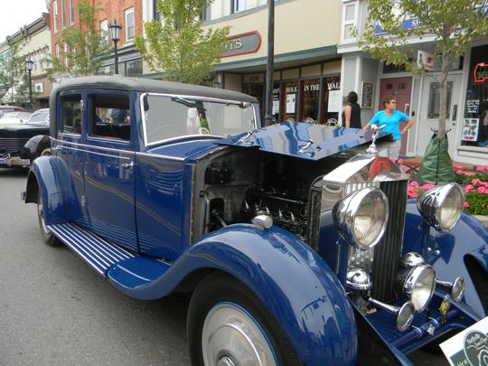 Downtown Northville is hosting a preview show of some vintage cars this weekend.