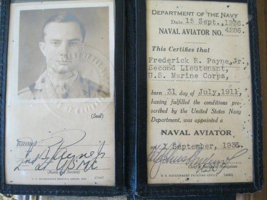 Naval aviation ID - 1936