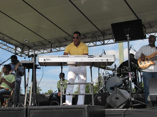 Contemporary jazz artist Marcus Johnson and the Urban Jam Band have been a mainstay at the Ferrario Southern Tier Jazz Festival, held Saturdayat Thorne Street Park in Horseheads.