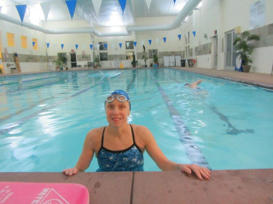 Dr. Susan Avery switched from distance running to swimming,