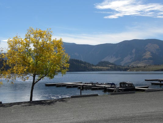 log gulch campground on holter lake