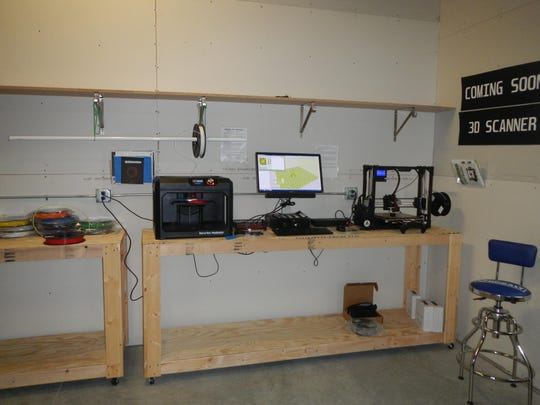 The Brookings Area Makerspace has 3-D printers, and it's getting a 3-D scanner.