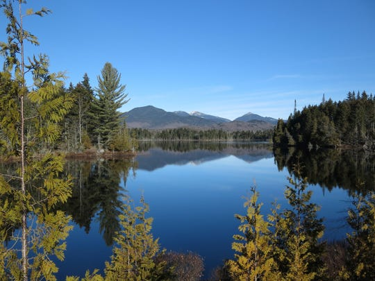 Boreas Pond in North Hudson, N.Y., is part of the Adirondack Forest Preserve.