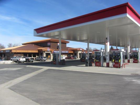 32 gas pumps