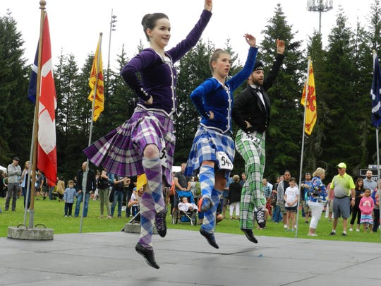 Portland Highland Games, July 15