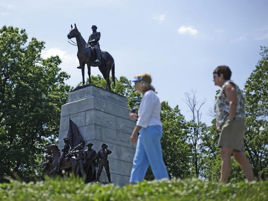 Confederate Monuments Gettysburg