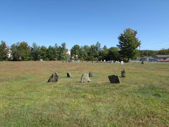 The Plains Cemetery located on Railroad Street includes the graves of several Revolutionary War veterans.