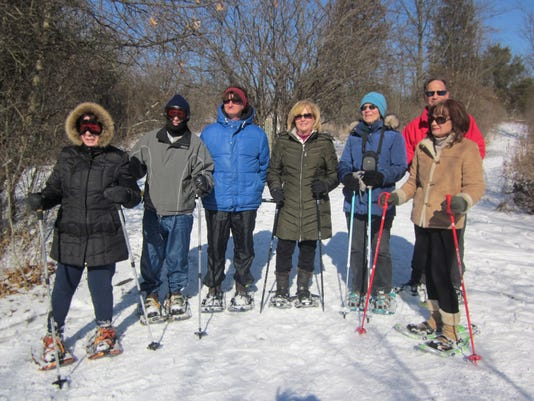 Snowshoeing at Heritage Park