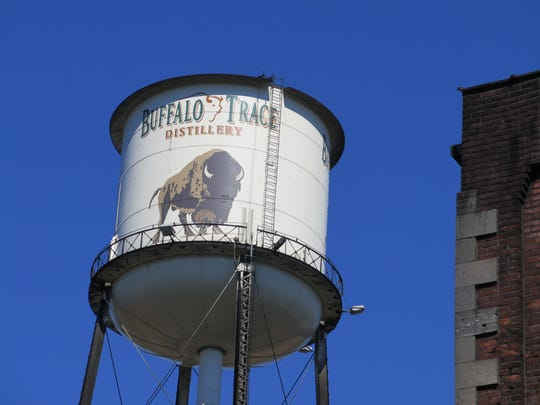 Buffalo Trace is one of 16 distilleries on the Kentucky Bourbon Trail